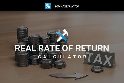 Real Rate of Return Calculator Thumbnail